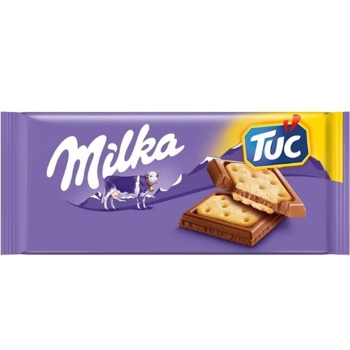 Milka TUC Chocolate Bars - 87g