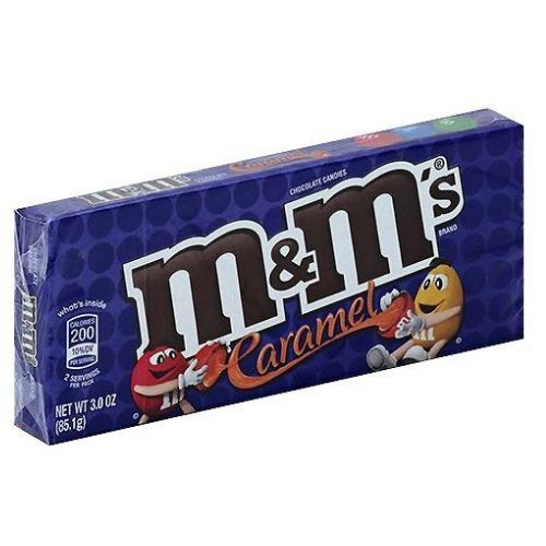 M&M's Caramel Chocolate Candies Theater Box