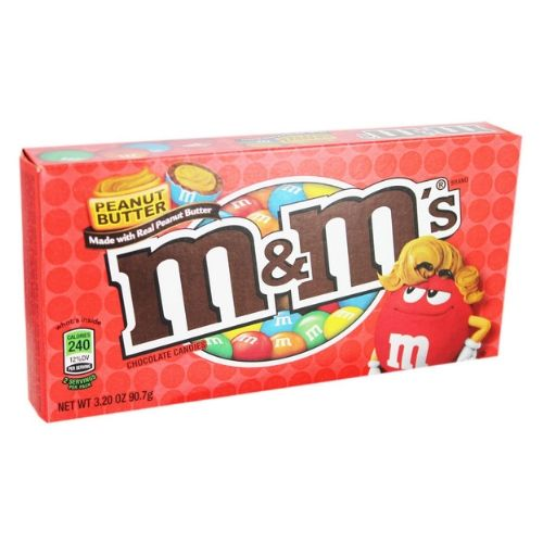 M&M's Peanut Butter Chocolate Candies Theater Box