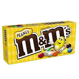 M&M's Peanut Chocolate Candies Theater Box