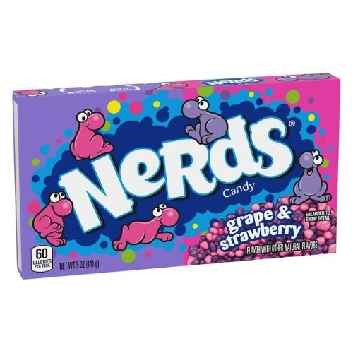 Nerds Candy Grape and Strawberry Theater Pack-5 oz.