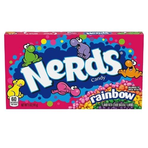 Rainbow Nerds Candy Theater Pack Movie Candy
