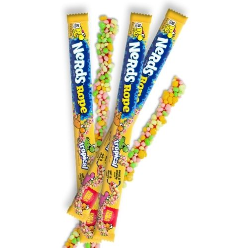 Wonka Nerds Rope Tropical Gummy Candy