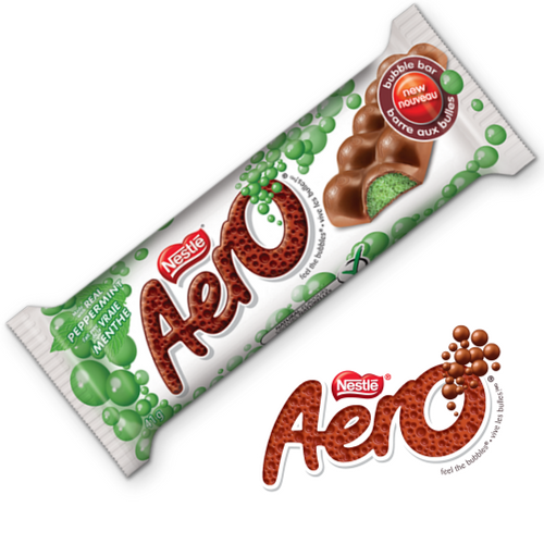 AERO Peppermint Bubble Bar-Canadian Chocolate Bar-Candy Online