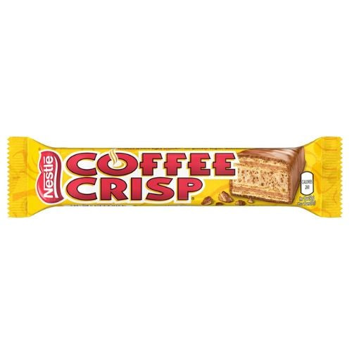 Nestle Coffee Crisp Canadian Bars
