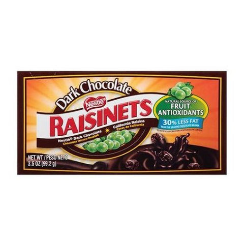 Raisinets Dark Chocolate Theater Box