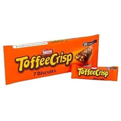 Nestle Toffee Crisp Biscuits - 7 Pack