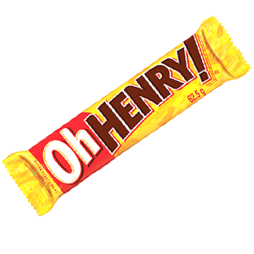 Oh Henry! Canadian Chocolate Bars