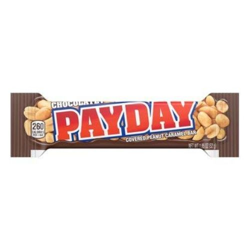 Hershey's PayDay Chocolatey Candy Bars- Candy District