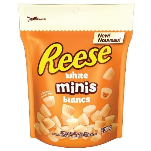 Reese White Minis Peanut Butter Cups- 200g