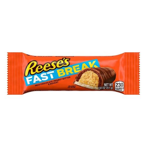 Reese's Fast Break Candy Bars-American Chocolate Bars-Retro Candy