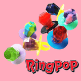 Ring Pop by Topps Assorted Flavours Box of 24