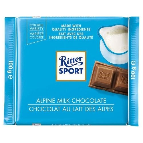 Ritter Sport Alpine Milk Chocolate | Candy District