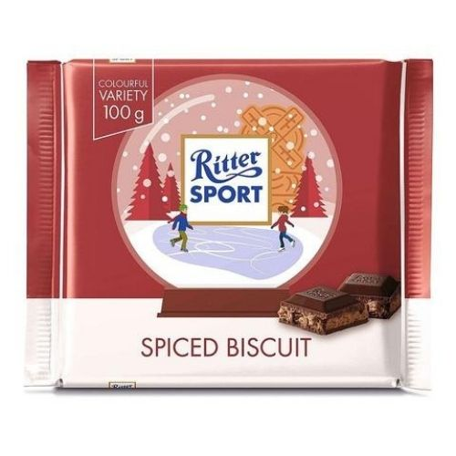 Ritter Sport Spiced Biscuit Bar - 100 g