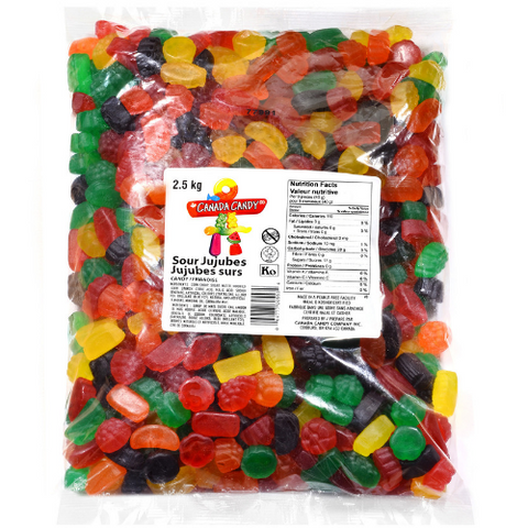 Canada Candy Co. Sour Ju Jubes-2.5 kg