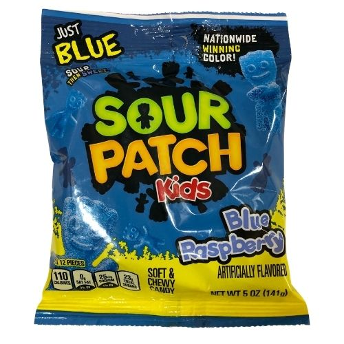Sour Patch Kids Blue Raspberry American Candy