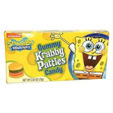 SpongeBob SquarePants Gummy Krabby Patties Candy Theater Box