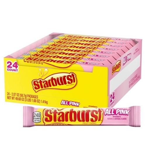 Starburst All Pink Fruit Chews | Candy District