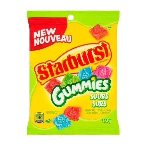 Starburst Gummies Sours Candy-164 g