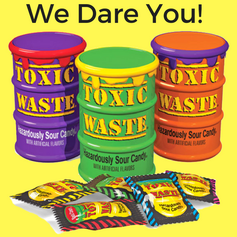 Toxic Waste Hazardously Sour Candy- Mystery Flavour