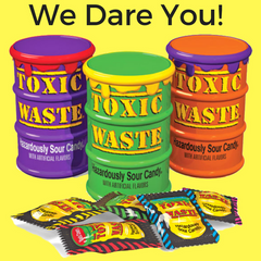 Toxic Waste Hazardously Sour Candy- Mystery Flavour-Candy Canada
