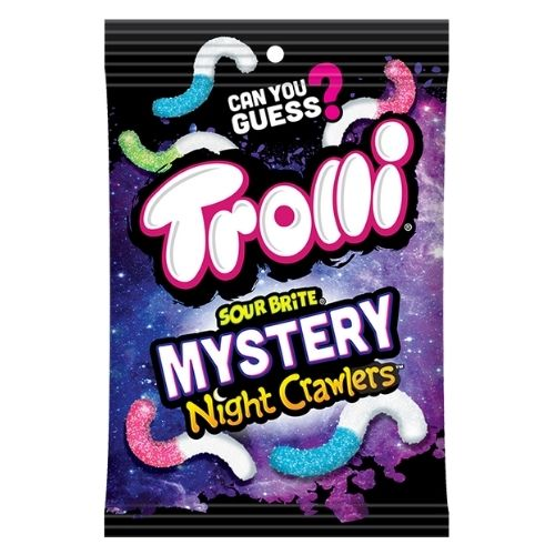 Trolli Brite Mystery Night Crawlers Gummy Candy - 142 g