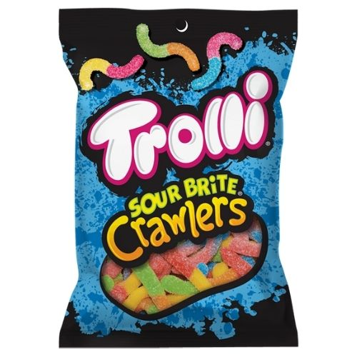 Trolli Sour Brite Crawlers Gummy Candy - 142 g