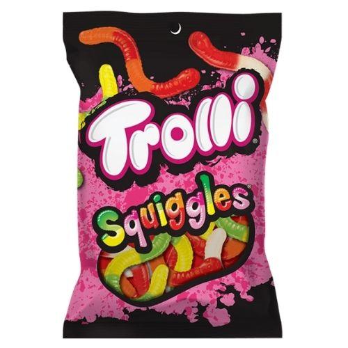 Trolli Squiggles Gummy Candy - 142 g