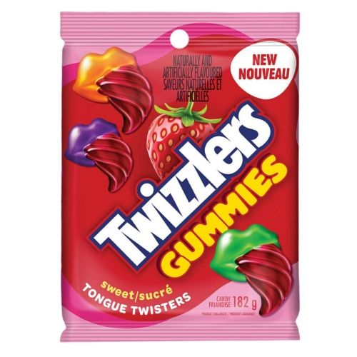 Twizzlers Gummies Sweet Tongue Twisters-182 g