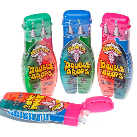 WarHeads Sour Liquid Double Drops Dispenser