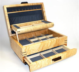 Large Jewelry Case with rounded sides - Boxology