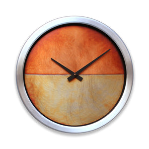 Nate Wall Clock Copper with Aluminum