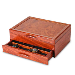 Heartwood Prairie II Collection 1 Drawer Jewelry Box