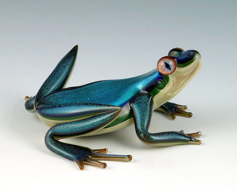 Dichroic Glass Frog