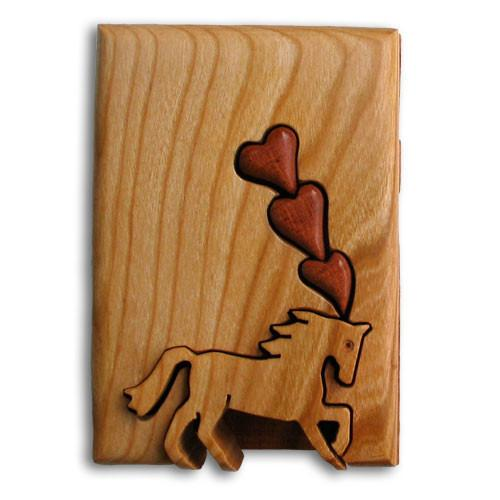 Horse Lover's Dream Key Puzzle Box - Boxology