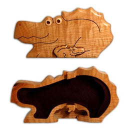 Alligator Puzzle Box - Boxology