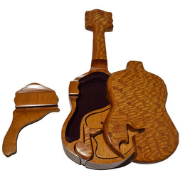 Acoustic Guitar Puzzle Music Box