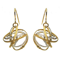 Mixed Drop Mobius Earrings