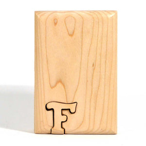 Basic Initial Key Puzzle Box F - Boxology
