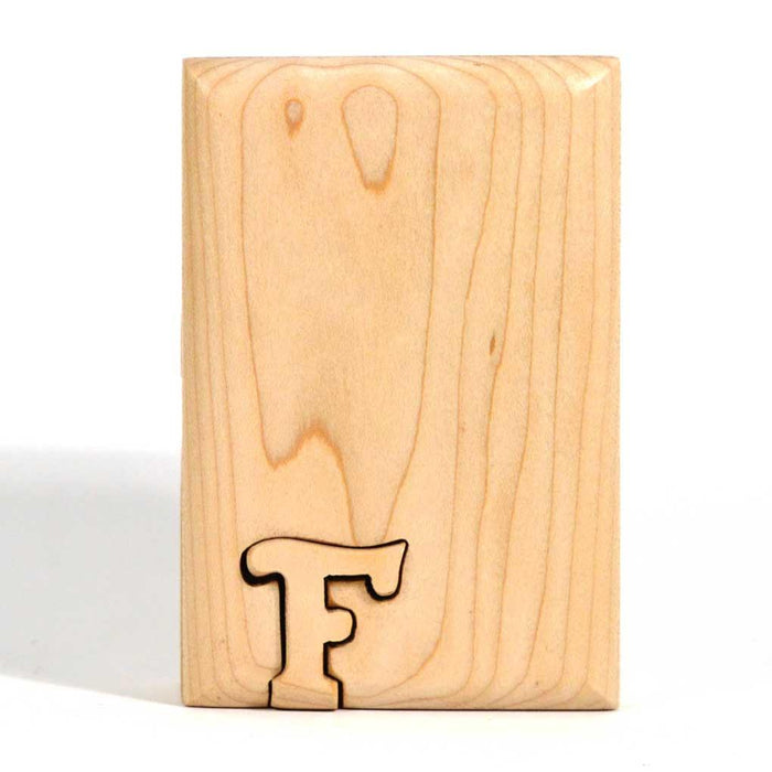 Basic Initial Key Puzzle Box F