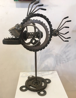 Steampunk Large Angler Fish