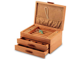 Heartwood Prairie I Collection 2 Drawer Jewelry Box