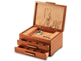 Heartwood Urban Craftsman Designer Collection 2 Drawer Jewelry Box