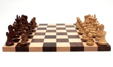 Medium Chess Board with Pieces