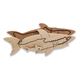 Shark Miniature Puzzle Box - Boxology