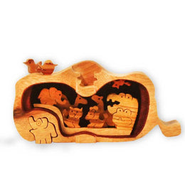 Noah's Ark Miniature Puzzle Box - Boxology