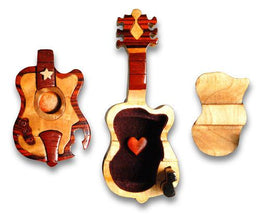 Guitar Miniature Puzzle Box - Boxology