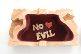 "Monkey ""No Evil"" Miniature - Boxology"