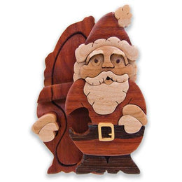 Jolly Santa Miniature Puzzle Box - Boxology