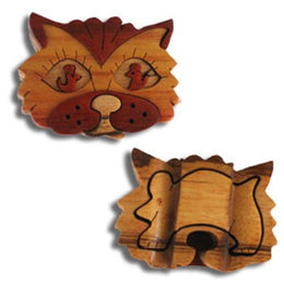 Cat Face Miniature Puzzle Box - Boxology